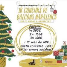 Cartell 1r concurs balcons nadal